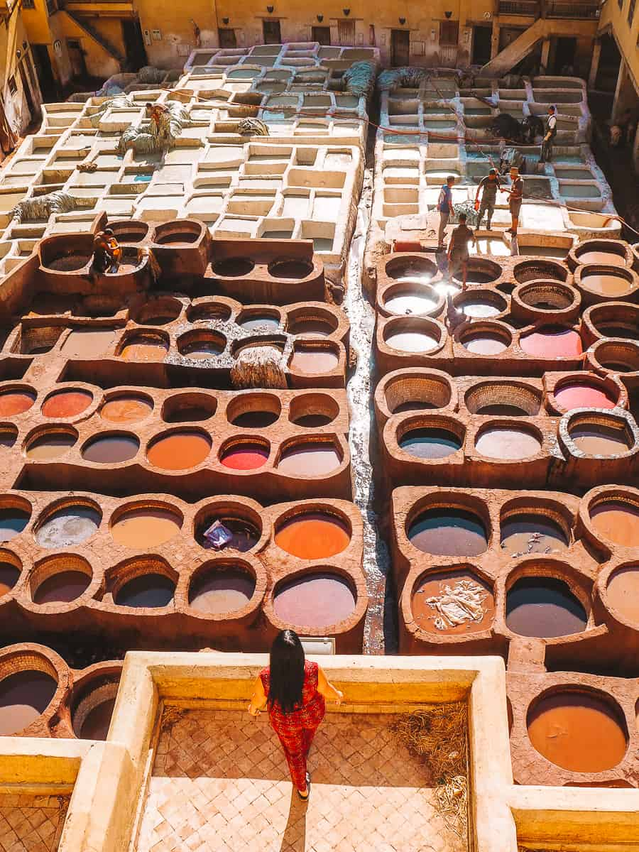 Fez Tannery Scam Morocco