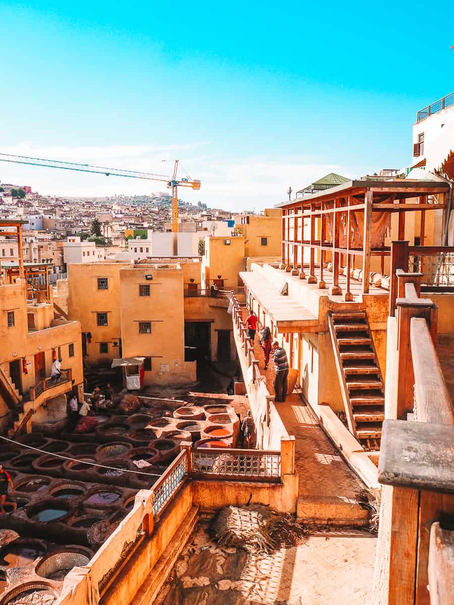 Chouara Tannery Fez Morocco