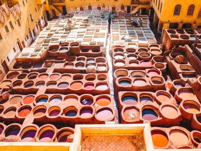 Chouara Tannery Fes Morocco