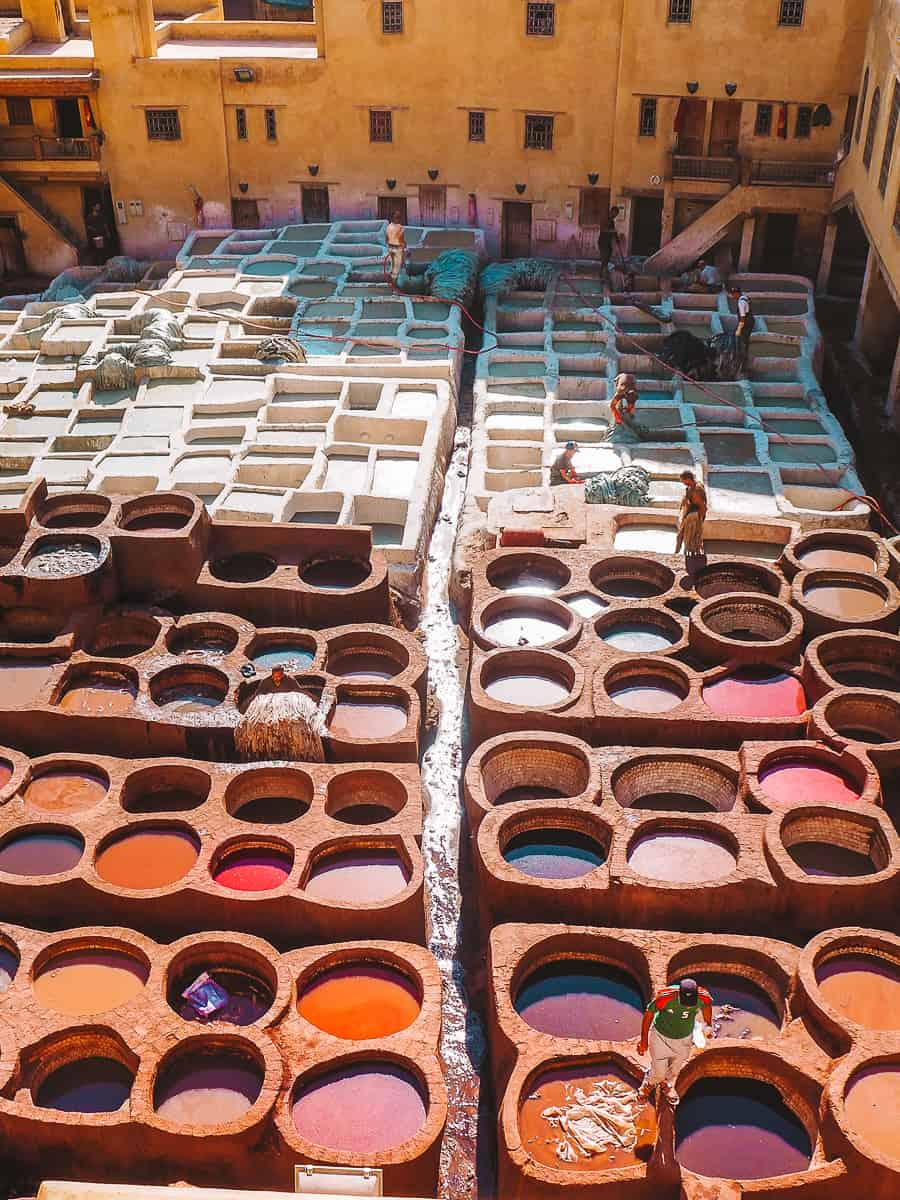 Chouara Tannery Morocco