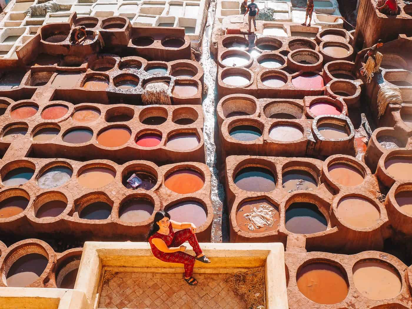 chouara tannery fez tannery morocco 9 of 13