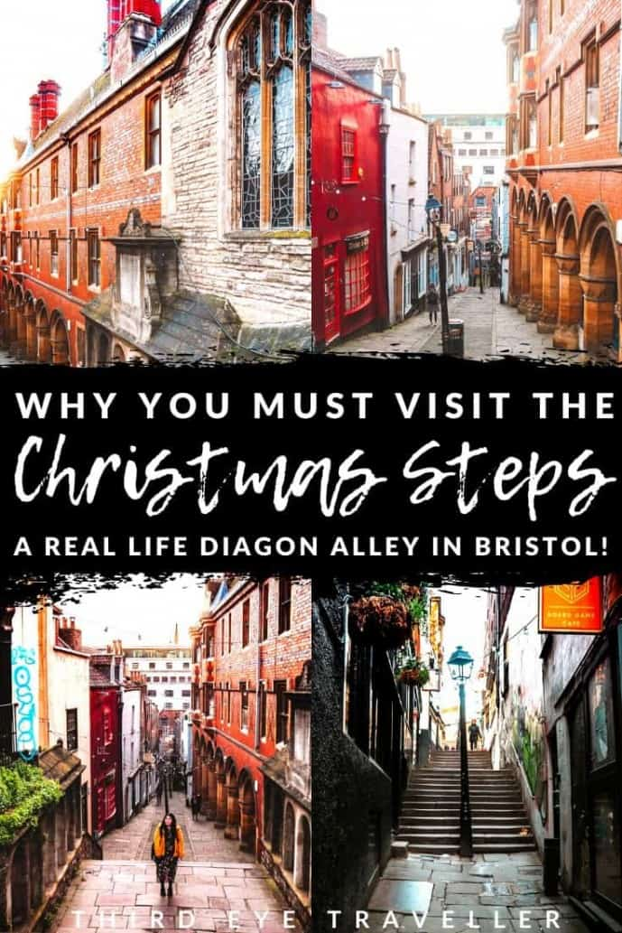 Christmas Steps Bristol