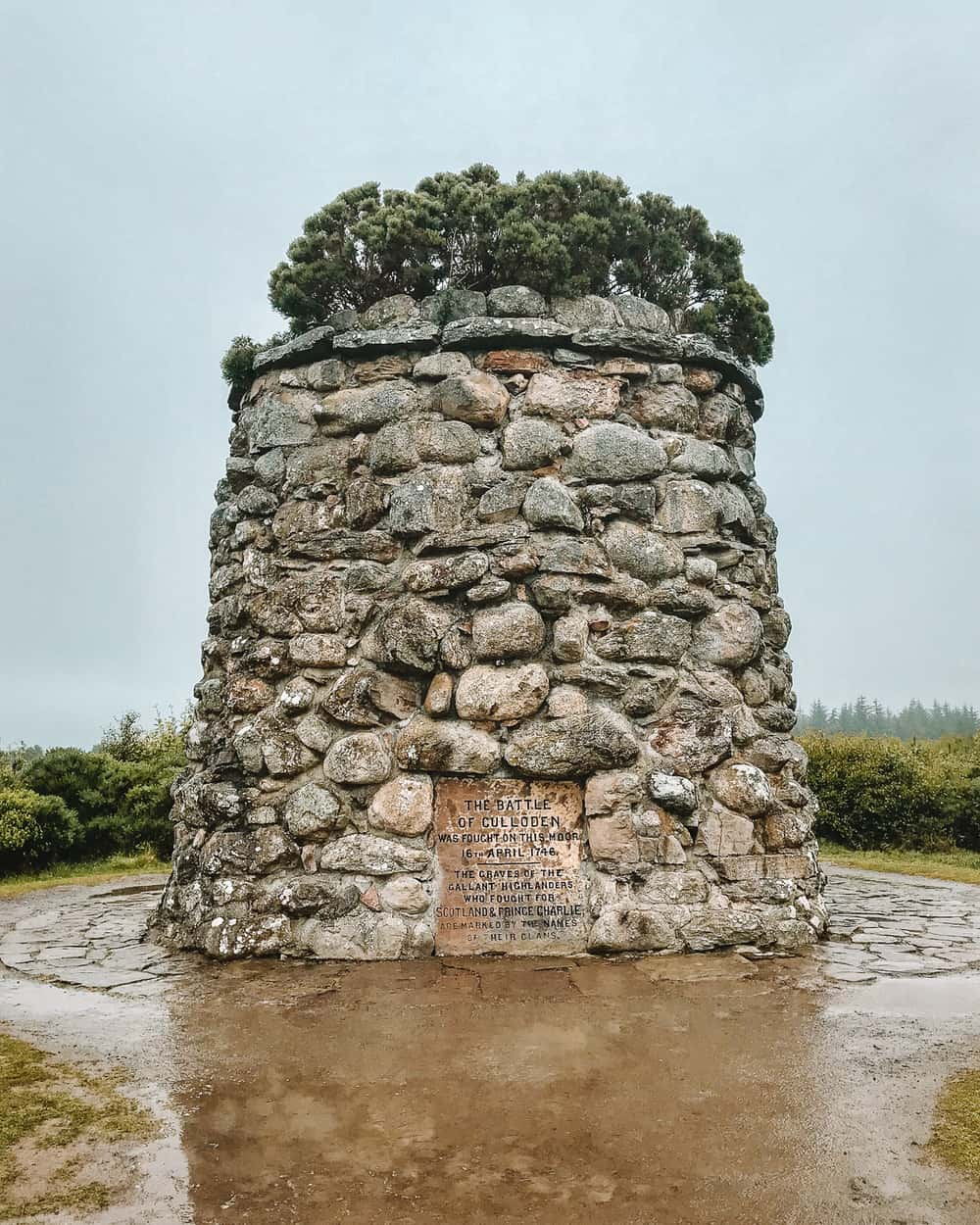 Culloden Battlefield War Memorial