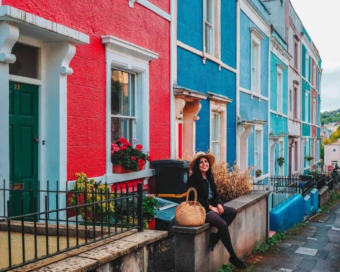 Colourful Houses in Bristol | Ambrose Place