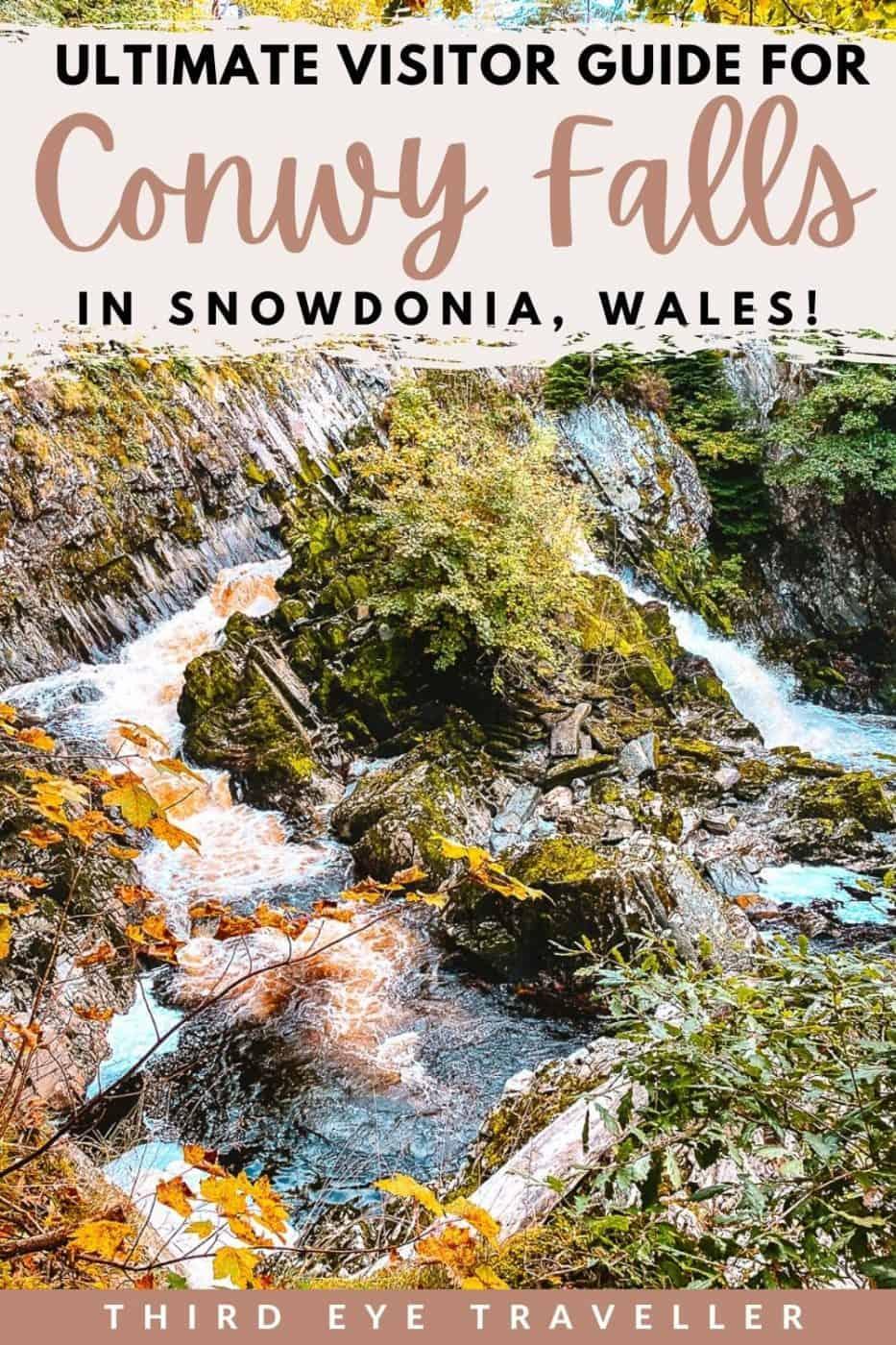 Conwy Falls Cafe Walk Snowdonia Wales UK