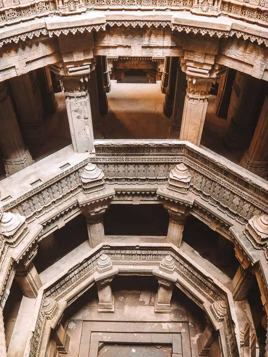 The Vav well in Bai Harir Ni Vav Aswara Ahmedabad