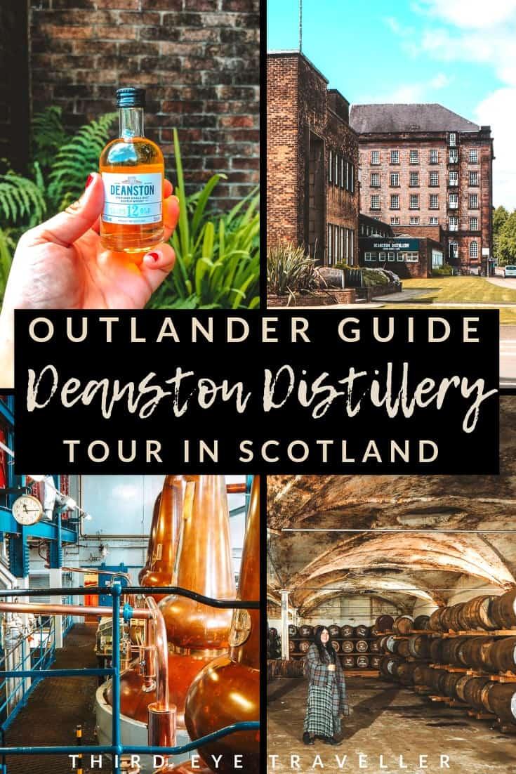 Deanston Distillery Outlander location