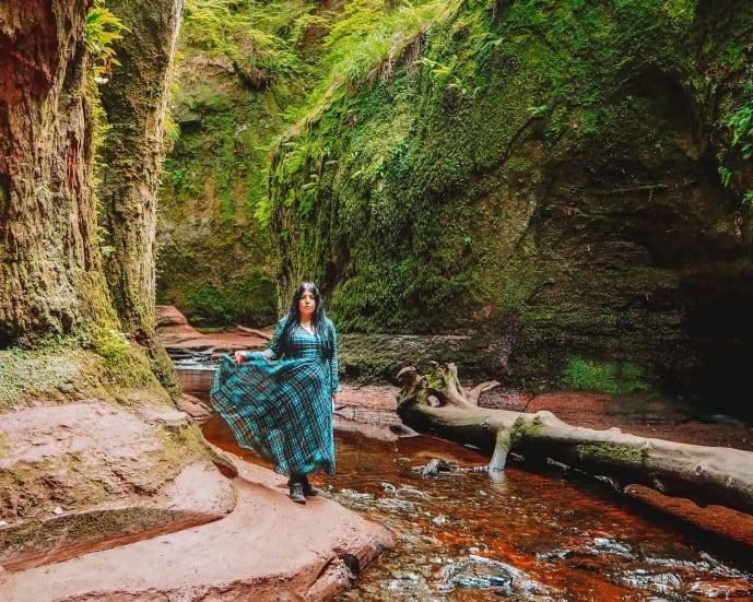 Finnich Glen Liar's Spring Outlander