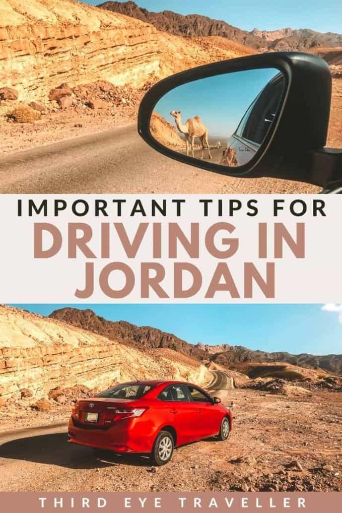 Driving in Jordan tips