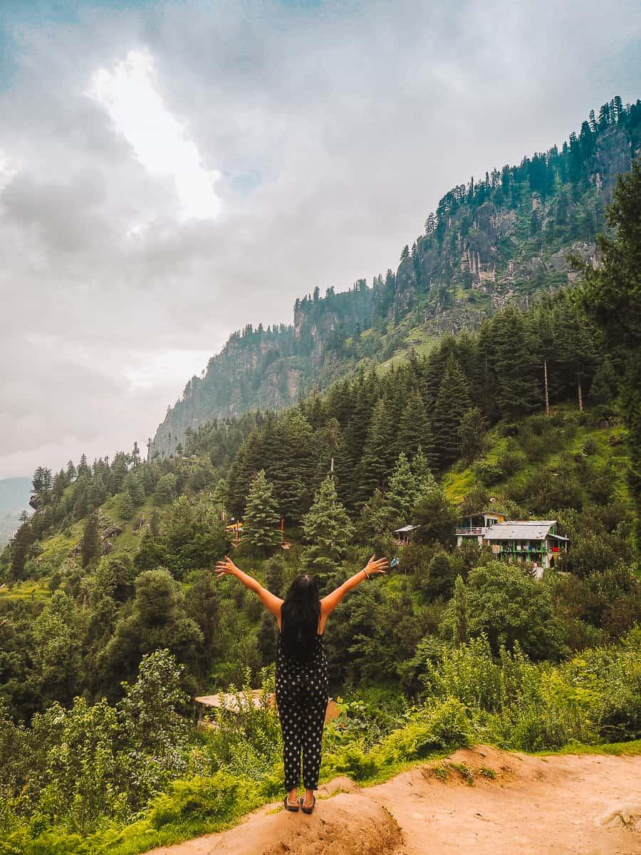 Manali Mountains Himachal Pradesh India