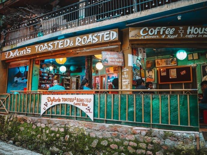 Bob Dylan Cafe Manali