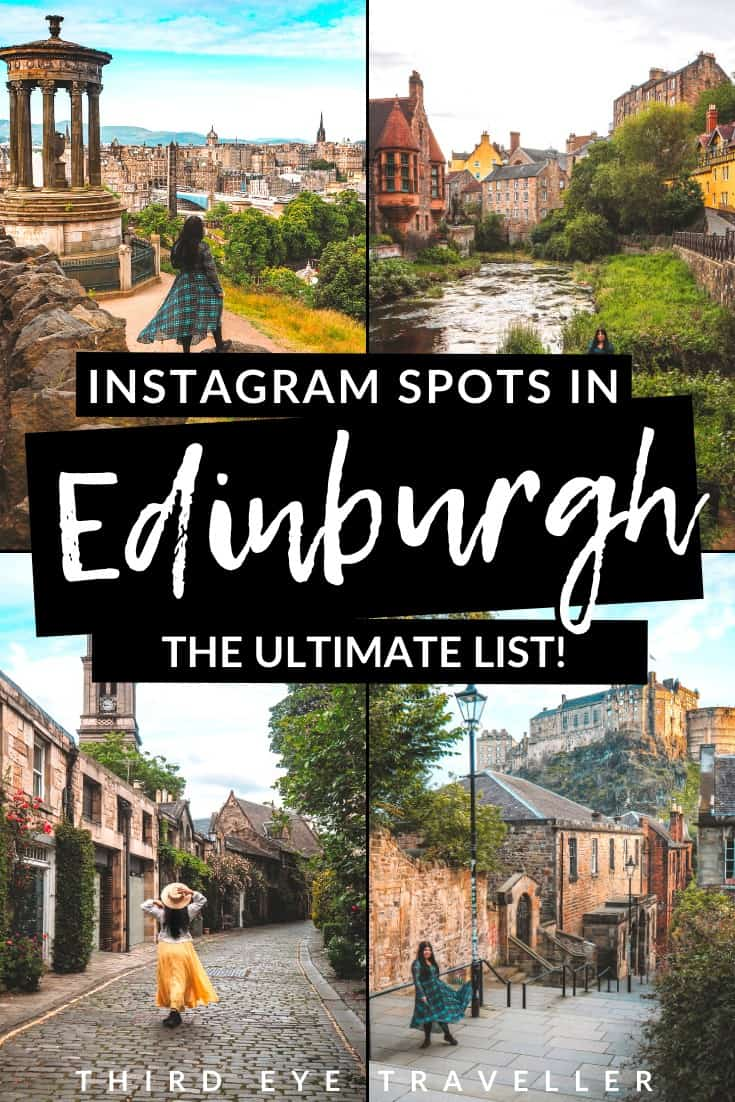 Instagram spots in Edinburgh | Instagrammable places in Edinburgh