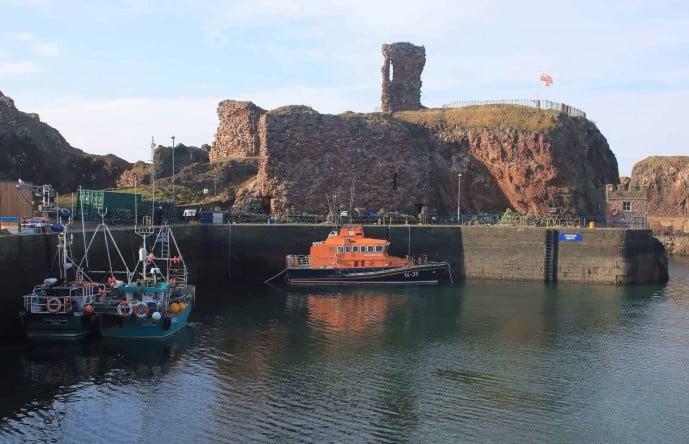 Dunbar Castle Scotland
