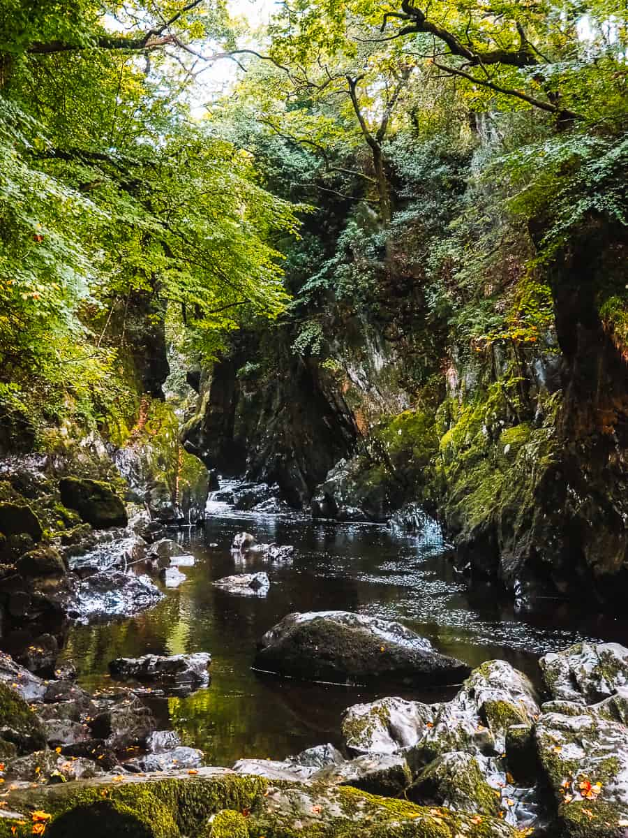 The Fairy Glen Gorge Wales Betws-y-Coed