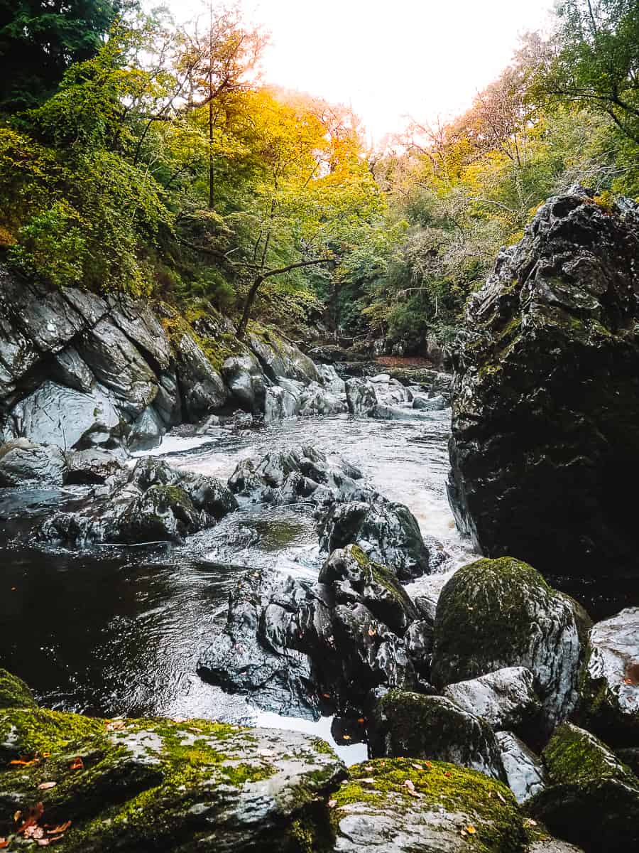 Fairy Glen Gorge Wales