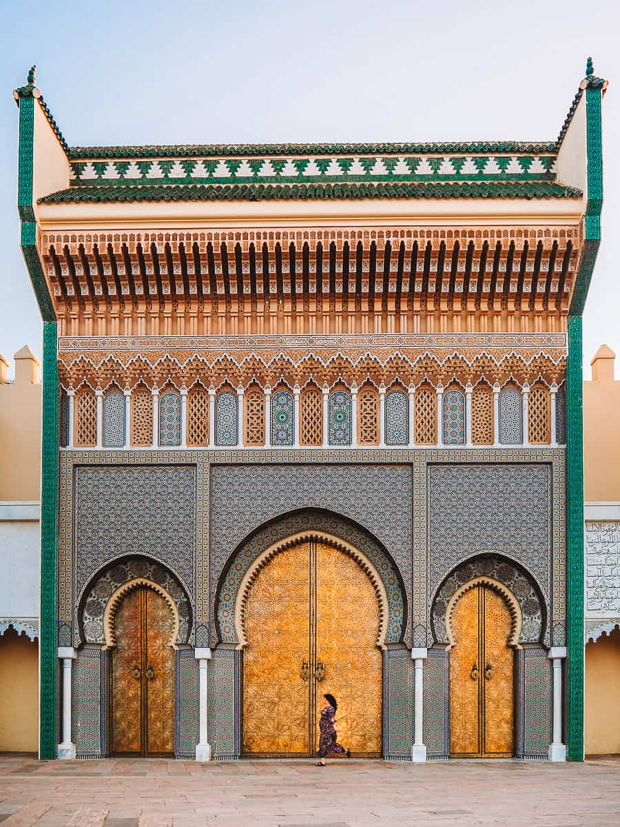 Fes Palais Royal Gate