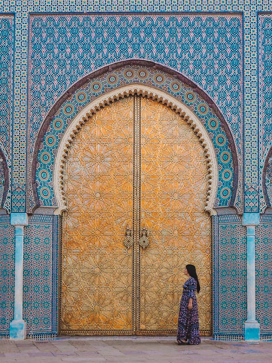 The Doors of the Royal Palace of Fez