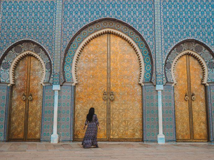 Fez Royal Palace Doors