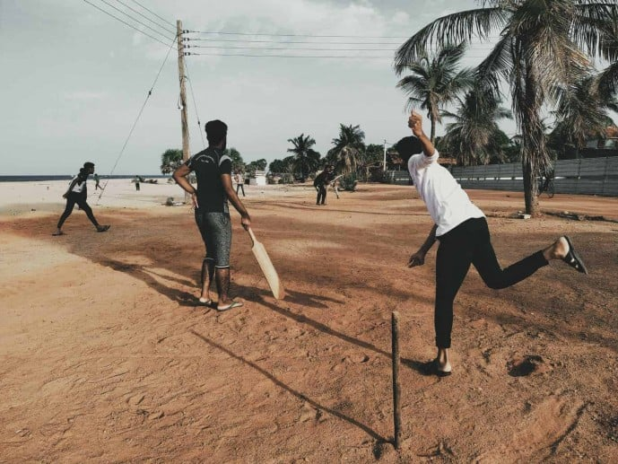Galle Fort Cricket Match