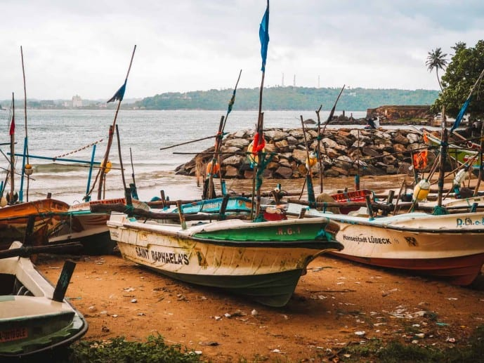 Sri Lanka fishing boats