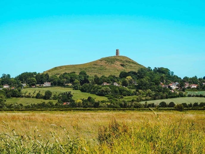 Glastonbury Tor Isle of Avalon