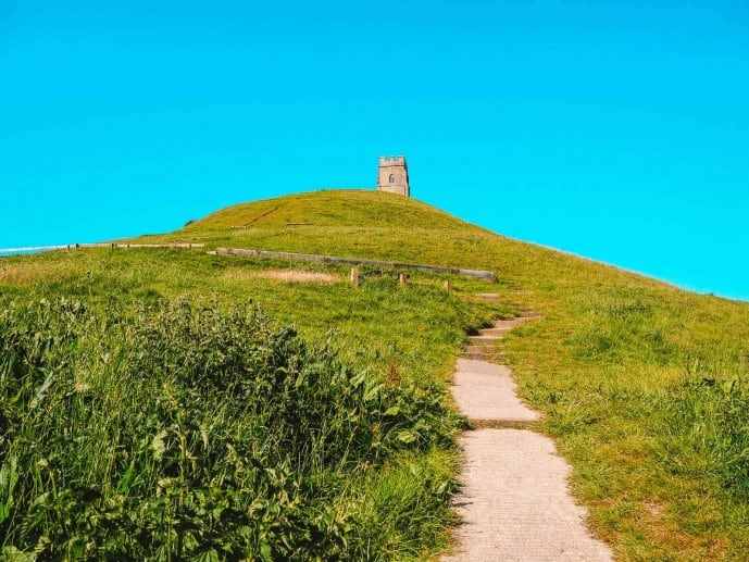 Glastonbury Tor Labyrinth
