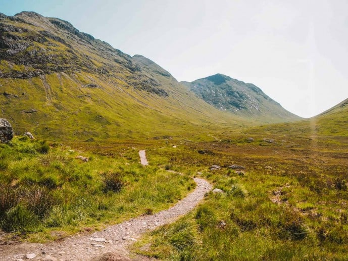 Glencoe Walking trail