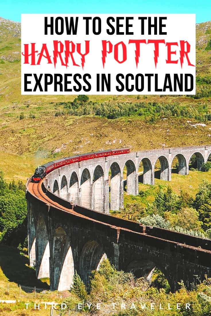 How to see the Harry Potter Express in Scotland | Glenfinnan Viaduct Viewpoint