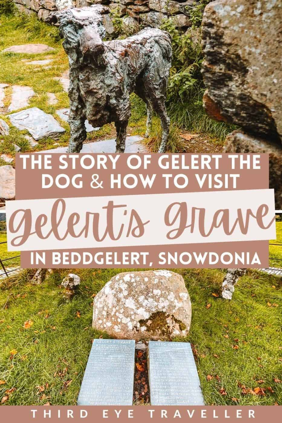 How to visit Gelert's in Beddgelert dog