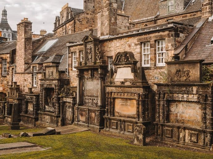 Greyfriars Kirkyard Edinburgh Harry Potter