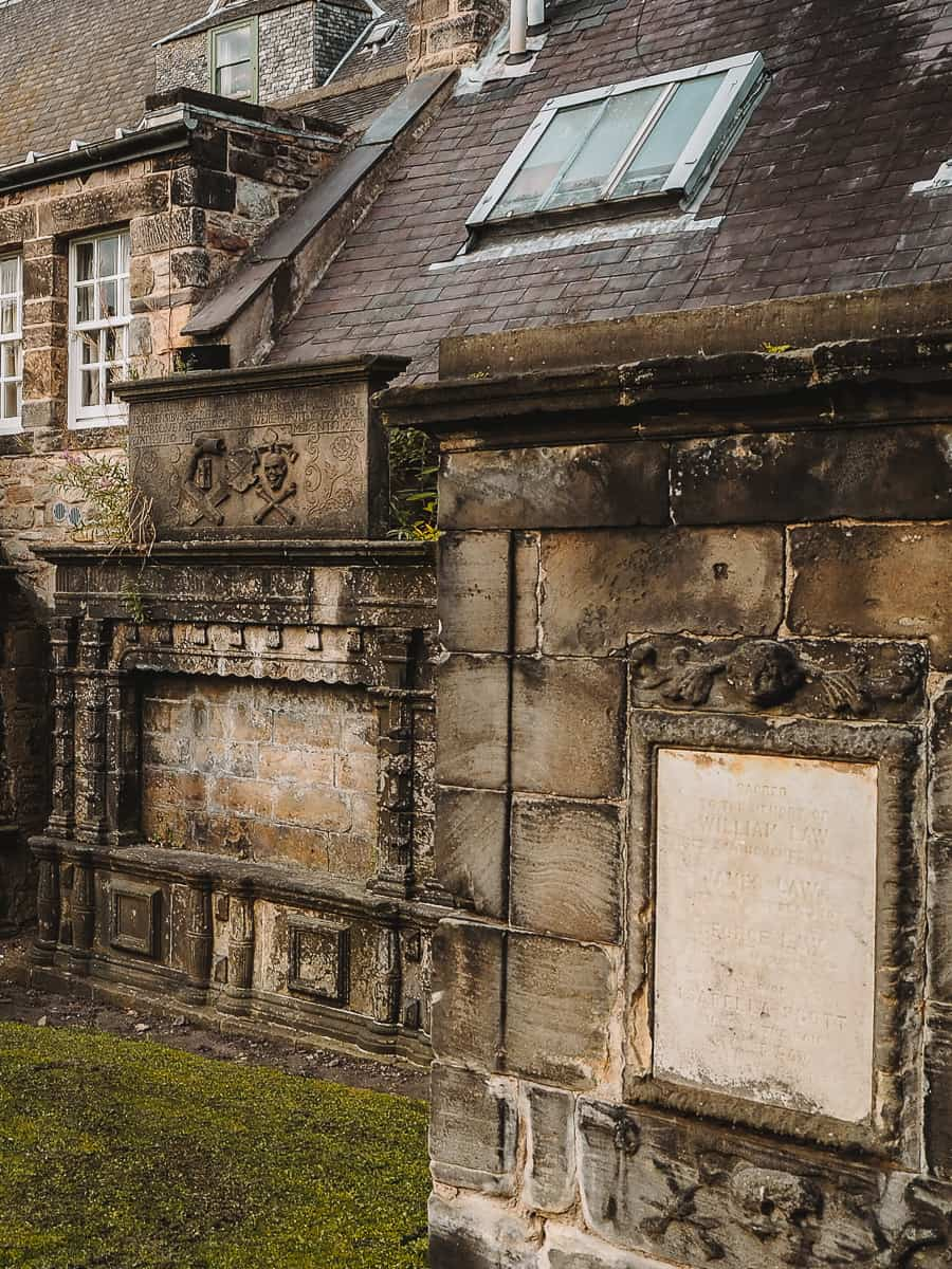 Greyfriars Kirkyard tombs