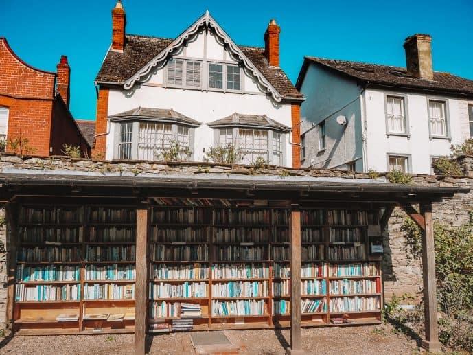 Hay Castle Bookshop Hay-on-Wye