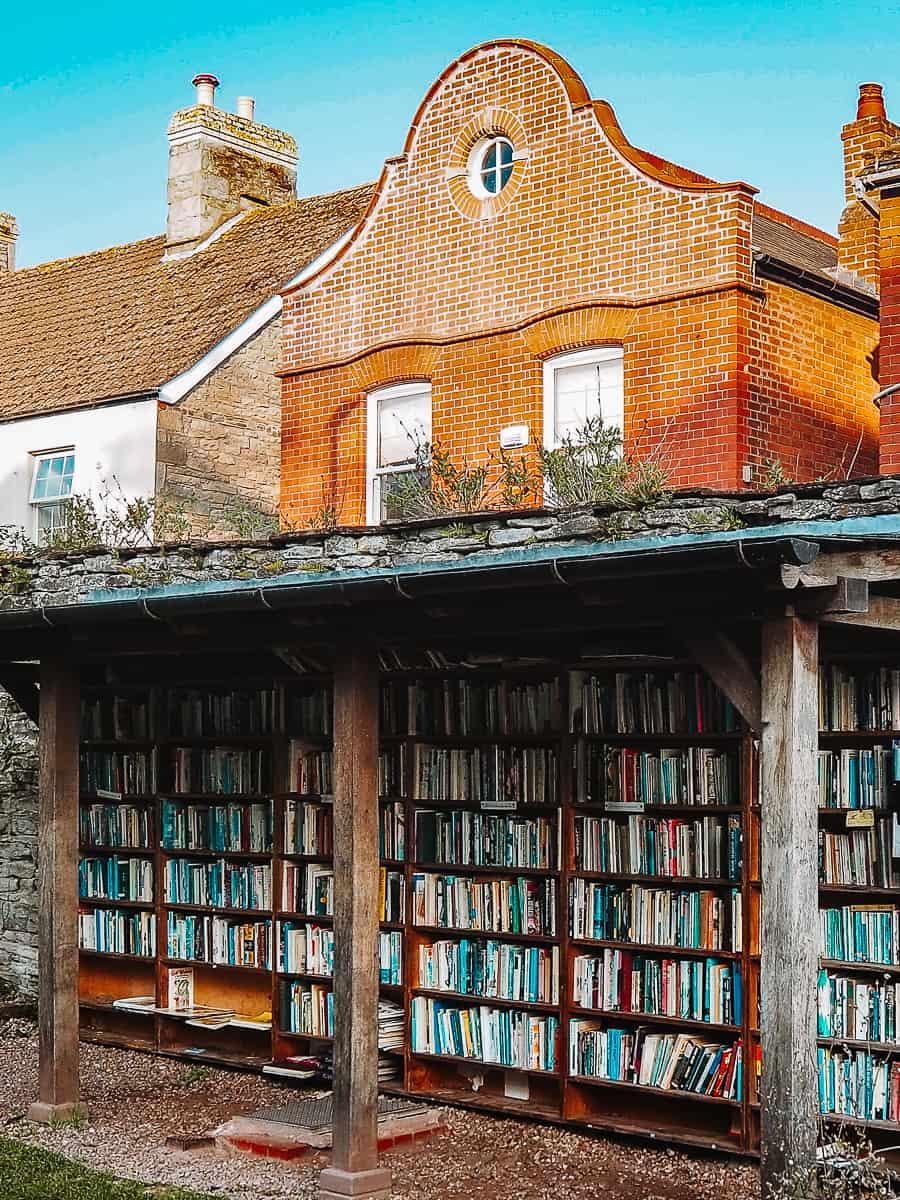 Hay Castle Honesty Bookshop Hay-on-Wye