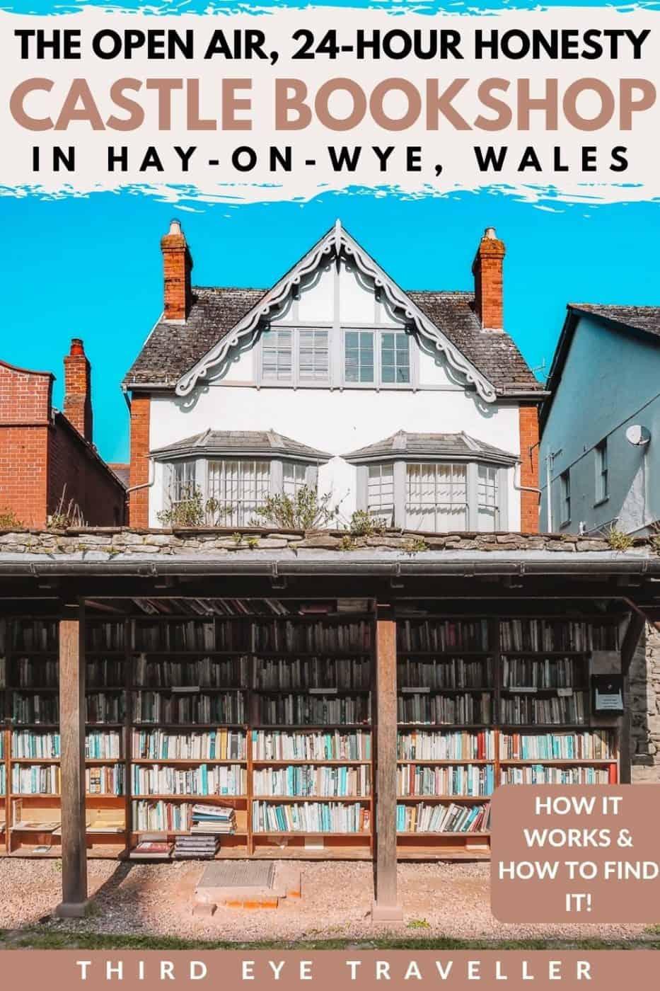 hay castle honesty bookshop hay on wye