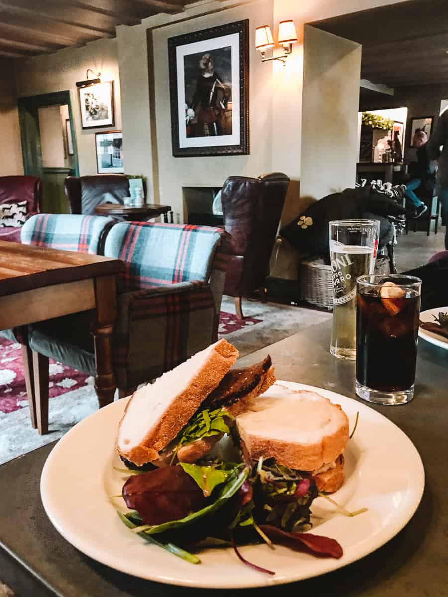 The Carnarvon Arms Highclere Castle