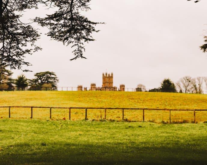 Highclere Castle walk public footpaths