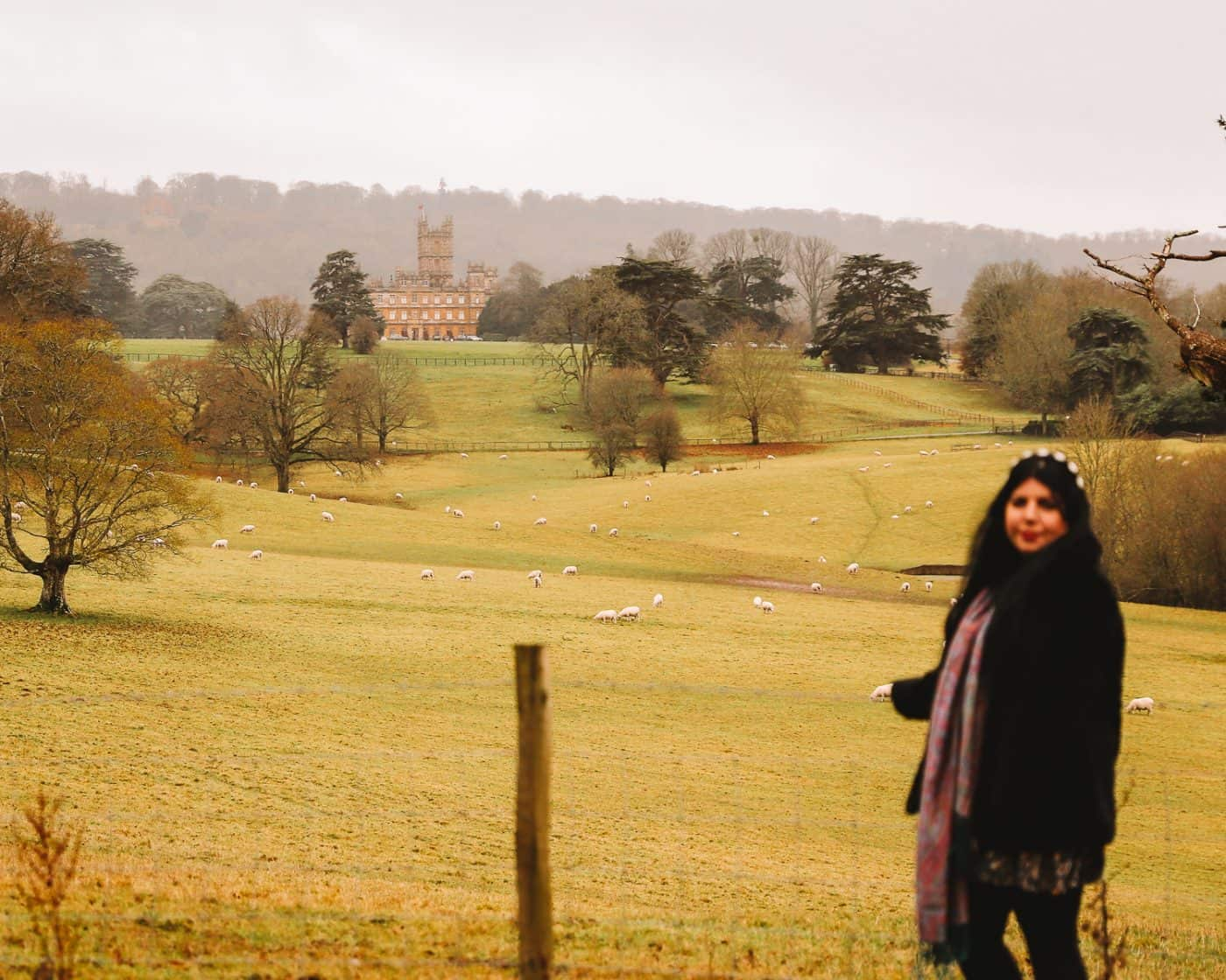 Highclere Castle for free Downton Abbey