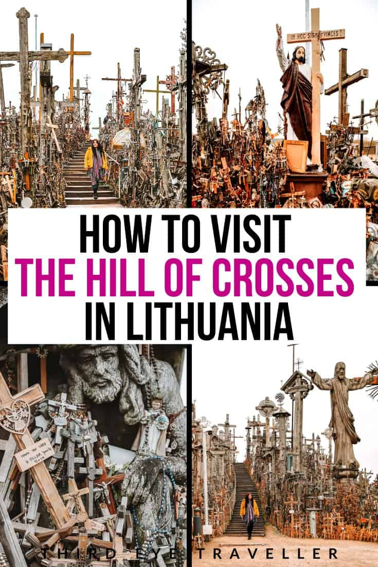 How to get the hill of crosses from Vilnius