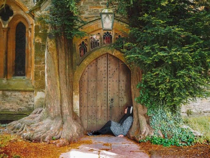 Tolkien Hobbit Door Cotswolds