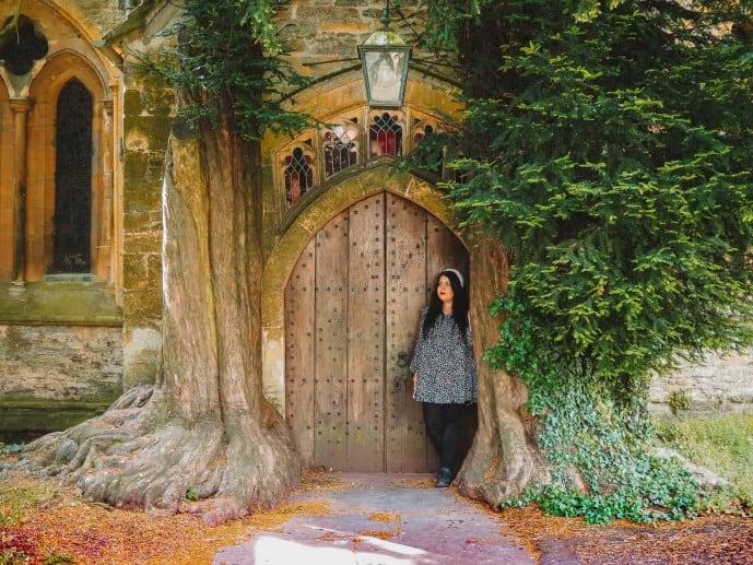 Hobbit Door Cotswolds | Yew Tree Door