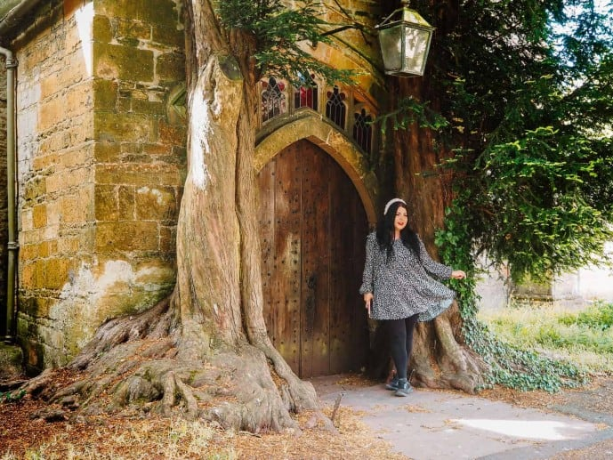Hobbit Door Stow-on-the-Wold
