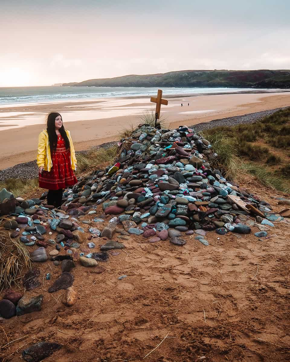 Where is Dobby Buried Harry Potter Beach Wales Pembrokeshire