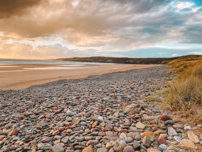 Freshwater West Beach Pembrokeshire Wales