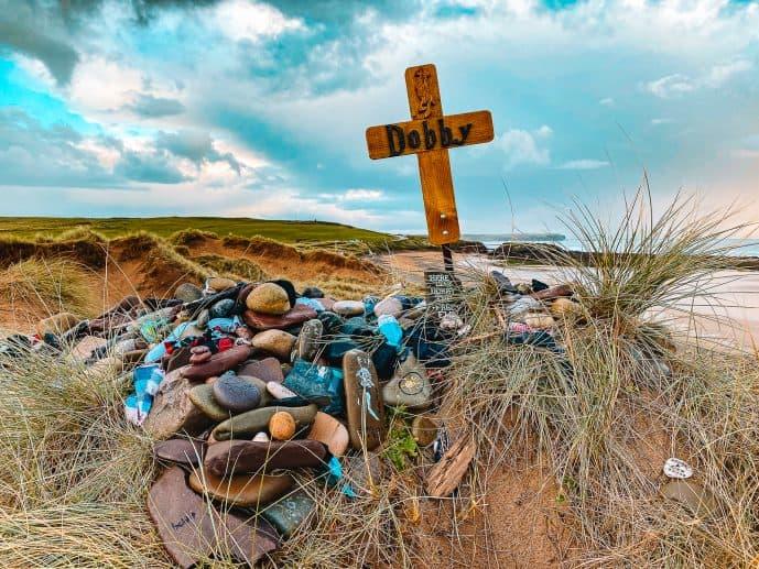Freshwater West Beach Dobby Burial Location