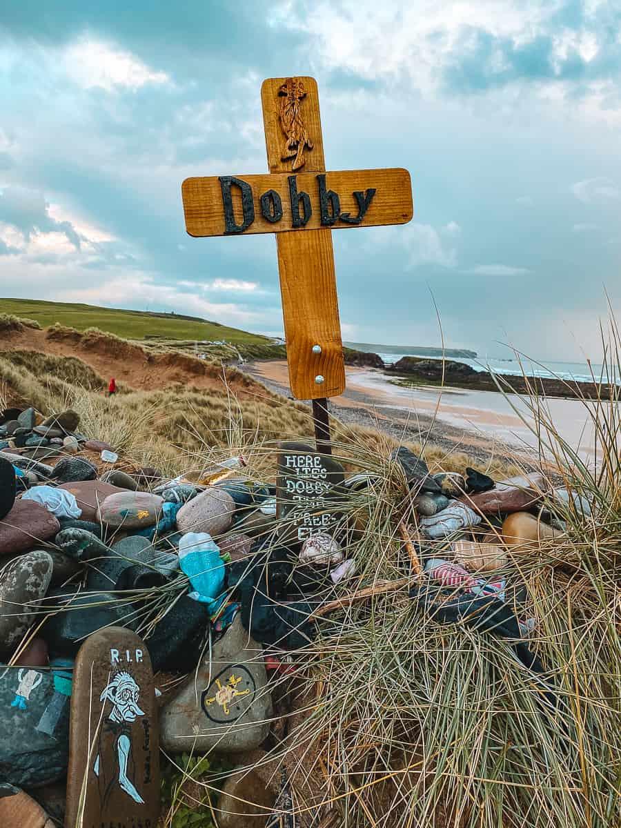 Dobby's Grave Crucifix Freshwater West Beach