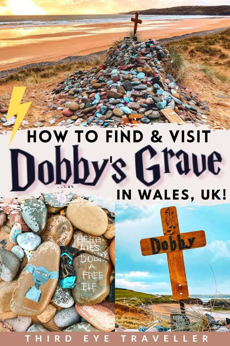 How to find Dobby's Grave in Freshwater West Harry Potter Beach Wales