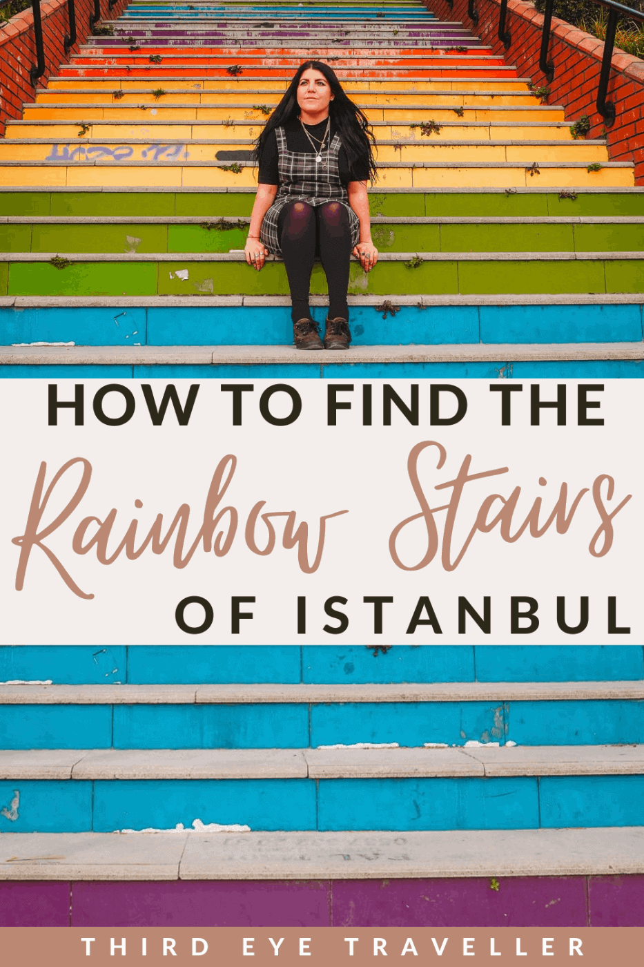where are the rainbow steps in istanbul