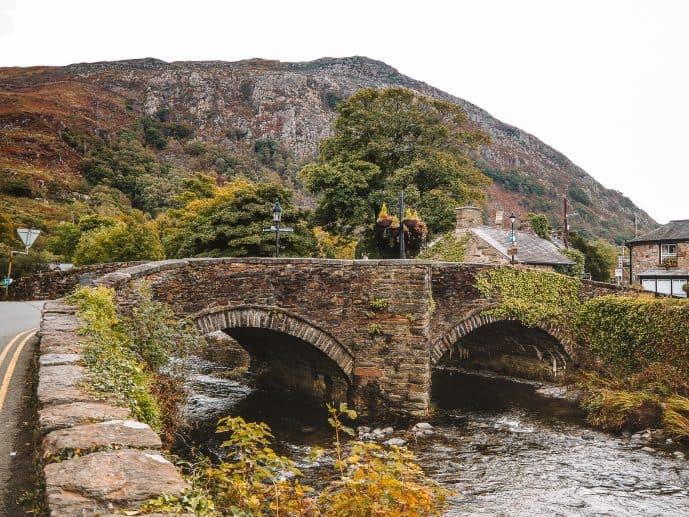 River Colwyn Bridge in Beddgelert