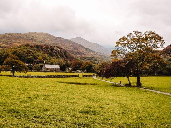 Gelert's Grave Beddgelert Snowdonia National Park