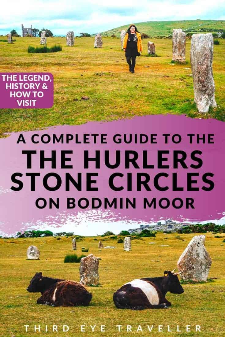 The Hurlers Stone Circles Bodmin Moor